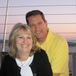 Mom & Dad atop the Space Needle (2)