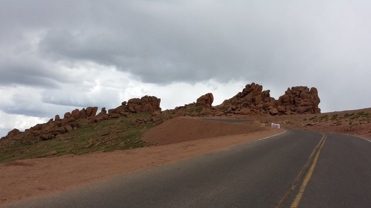 The road to the summit of Pikes Peak is foreboding and treacherous. Craigslegz.com