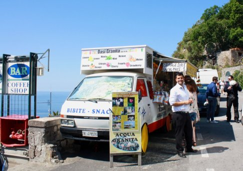 Mario Frenna, guide for SeeAmalfiCoast tours, enjoys showing off his native region in southern Italy. Craigslegz.com