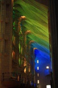 Segrada Familia light