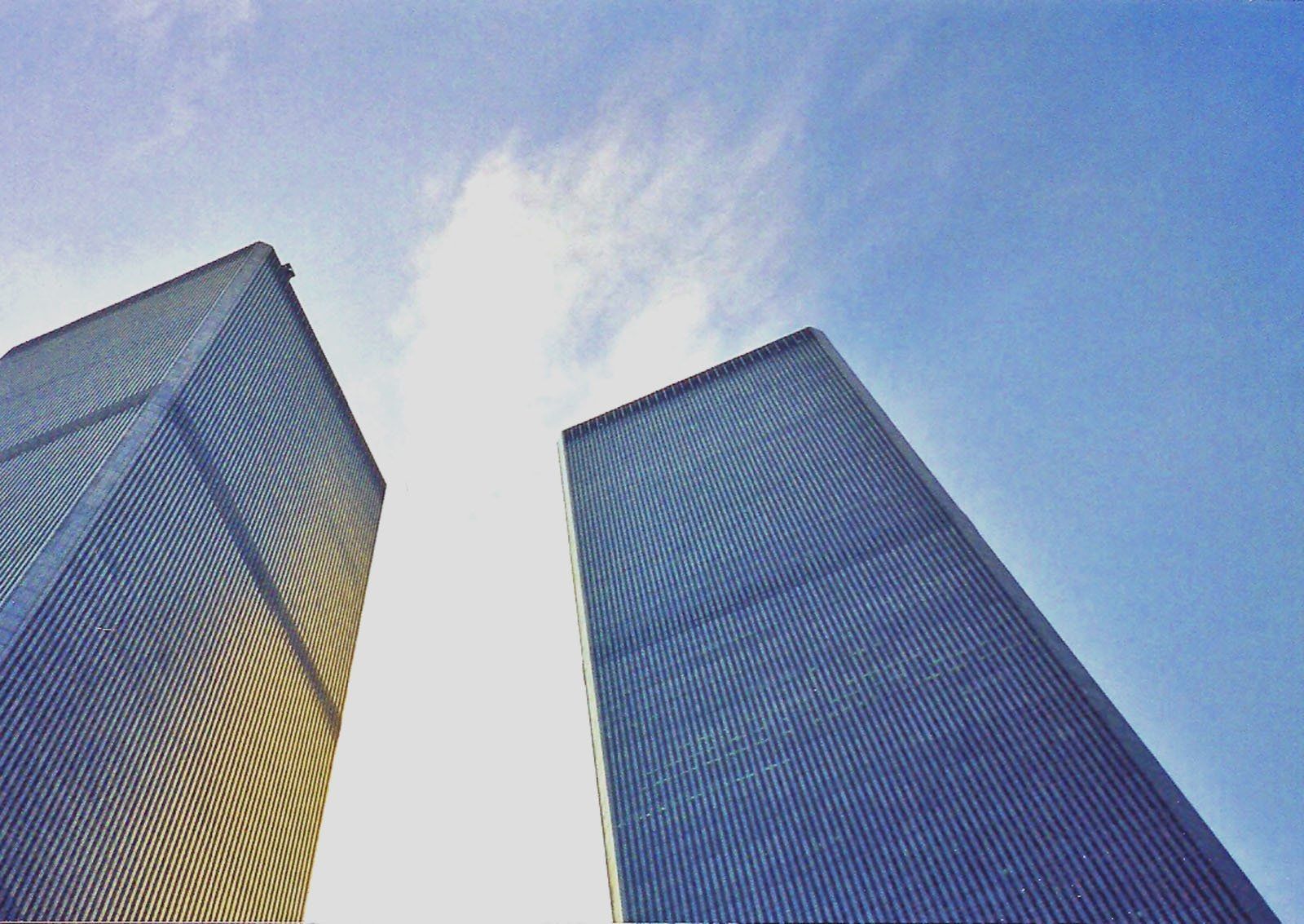 Before the fall: World Trade Center Towers stood for peace