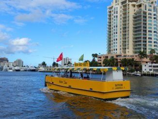 The water taxis run on three routes on the Intracoastal Waterway and New River in Fort Lauderdale.