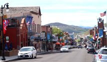 Uncrowded Main Street prior to Memorial Day in Park City, Utah. (Craig Davis/Craigslegztravels.com)
