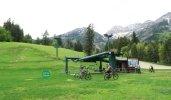 Mountain bikers take over the slopes in the summer at Sundance Mountain Resort. (Craig Davis/Craigslegztravels.com)