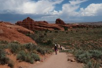Several hiking trails make the Devils Garden area one of the most heavily traveled parts of Arches National Park. (Craig Davis/Craigslegztravels.com)