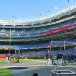Batting practice at Yankee Stadium. (Craig Davis/Craigslegztravels.com)