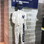 Standing guard in the service area at Yankee Stadium. (Craig Davis/Craigslegztravels.com)