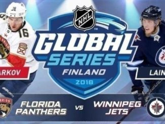 Aleksander Barkov and the Florida Panthers will face off against Patrik Laine and the Winnipeg Jets in Helsinki, Nov. 1-2, 2018.