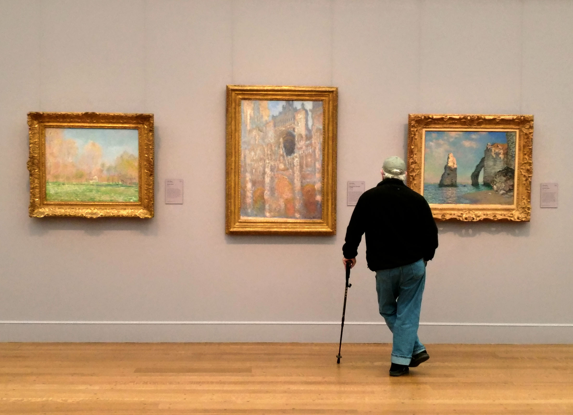 The Clark Art Institute in Williamstown, Mass., features an extensive collection of the works of Claude Monet and other French Impressionists. (Craig Davis/CraigslegzTravels.com)