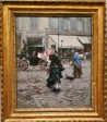Giovanni Bodini's street scene showing life in the Nineteenth Century is on display at the Clark Institute of Art in Williamstown, Mass. (Craig Davis/CraigslegzTravels.com)