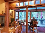 The Cornell Inn serves home-cooked breakfast every morning in Lenox, Mass. (Craig Davis/CraigslegzTravels.com)