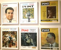Norman Rockwell produced more than 300 covers for the Saturday Evening Post over a period of nearly 50 years. (Craig Davis/Craigslegztravels.com)