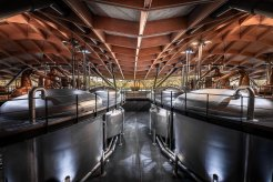 The venerable Macallan Distillery has been making Scotch whisky for nearly 200 years but now operates in a modern facility. (Glenn Davis/Glenndavisphotography.com)