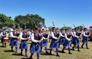 The bagpipe bands lead the pageantry at the SE Florida Scottish Festival. (Craig Davis/Ccraigslegztravels.com)