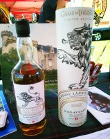 The Lagavulin 9 Year Old Game of Thrones commemorative edition scotch is distinguished by a smoky, peaty flavor. (Craig Davis/Craigslegztravels.com)