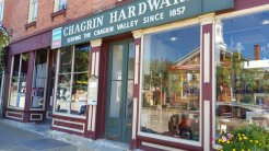 Chagrin Hardware has been in business on Main Street since 1857 in Chagrin Falls. (Craig Davis/Craigslegztravels.com)
