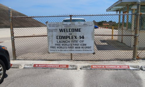 Launch Complex 34 is one of the most historic at Cape Canaveral Air Force Station as the site of John Glenn's launch to orbit as well as early missile launches. (Craig Davis/Craigslegztravels.com)