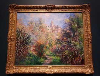 Monet's Gardens of the Villa Moreno is on display at the Norton Museum of Art. (Craig Davis/Craigslegztravelsw.com)