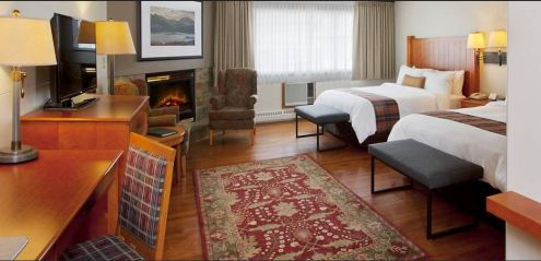 Whistlers Inn, a quaint boutique hotel in the heart of Jasper, Alberta, has roomy suites. (Craig Davis/craigslegztravels.com)