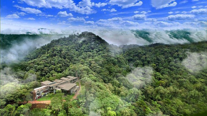 The Mashpi Lodge is more than 3,000 feet above sea level in the Ecuadorian cloud forest.