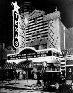 The Texas Theatre was a state of the art venue in Dallas in the early 1930s.