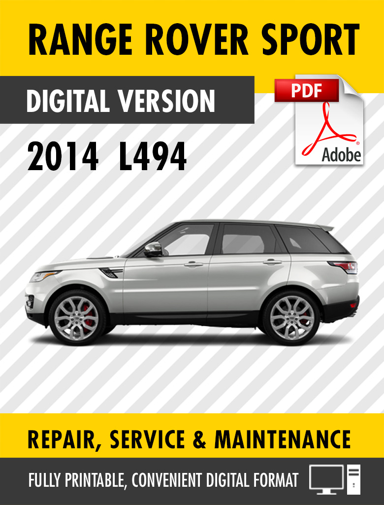 hight resolution of  range rover sport factory service repair manual l494 preview sample