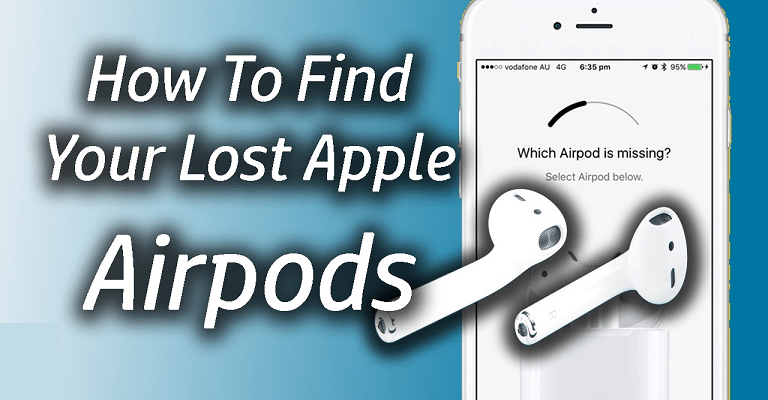 How to track down a lost Apple AirPod