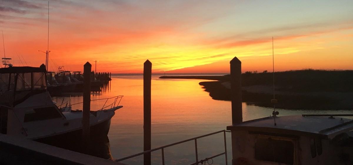 Sunset at Rock Harbor