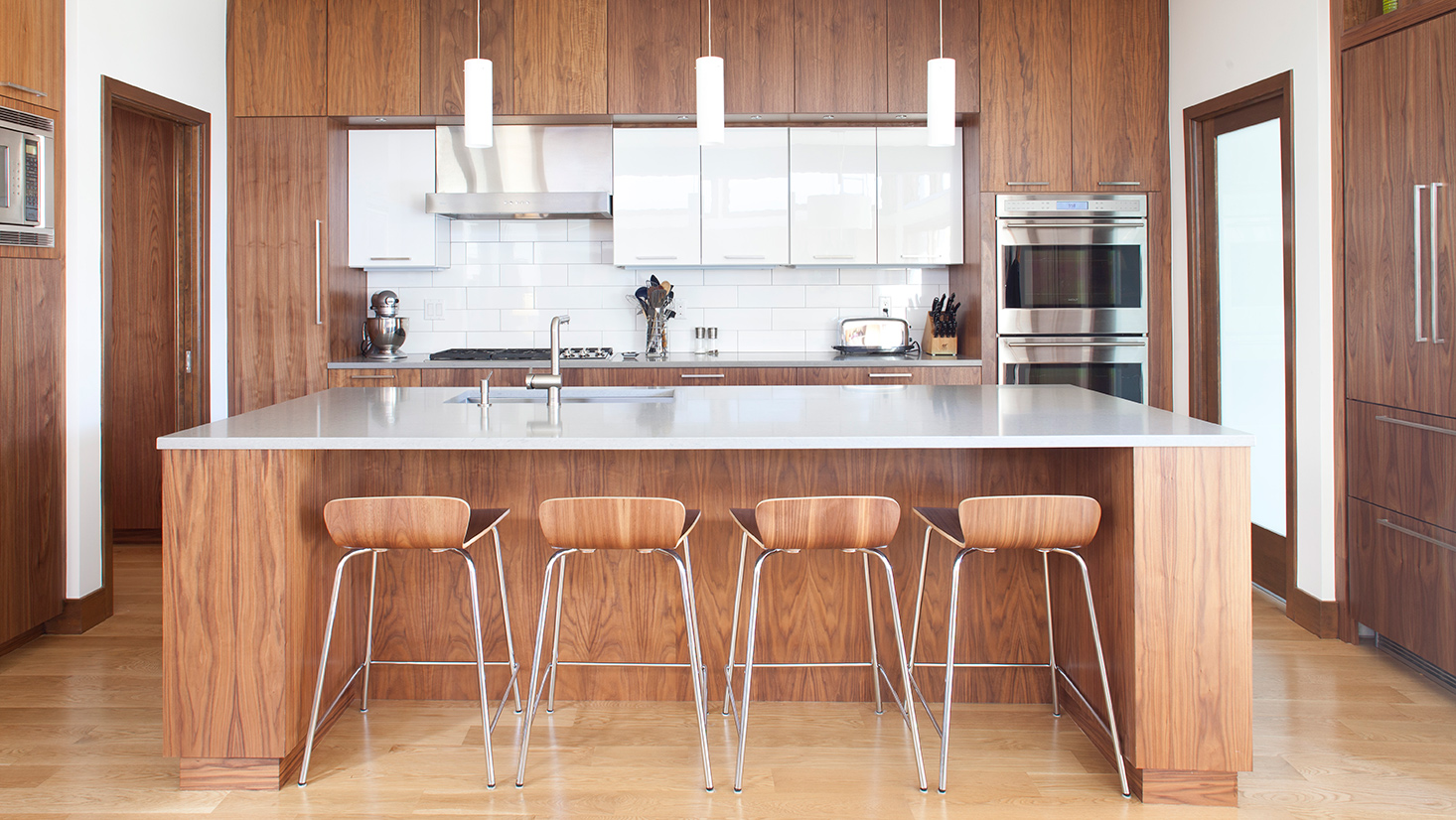 Kitchen in Platt Park Residence