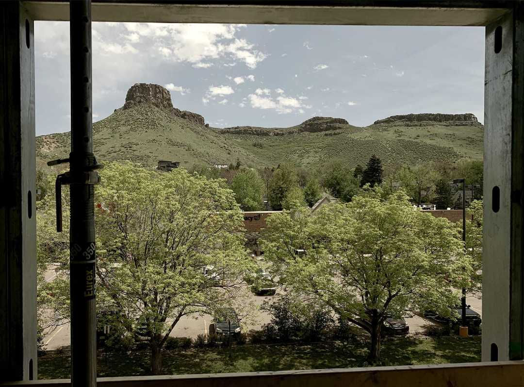 Dorm room with a view!