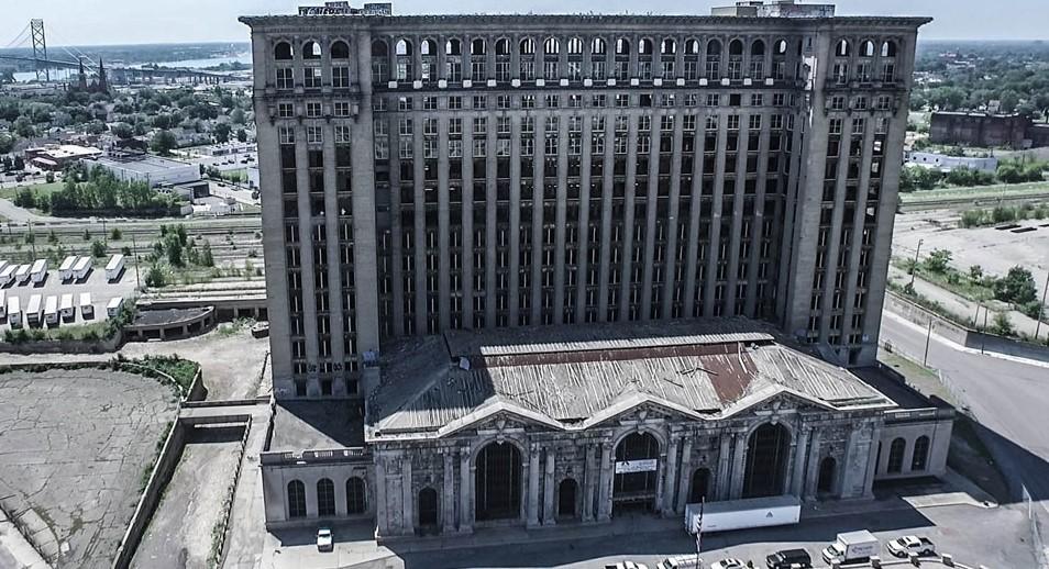 Detroit's Central Station