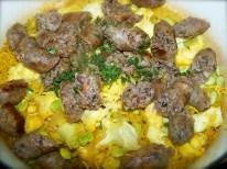 Sausage and Cauliflower Casserole -- very good