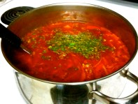 Borscht is the word
