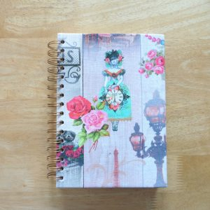 craisymissdaisy Serendipity Journal Vintage Style 2 (front cover)