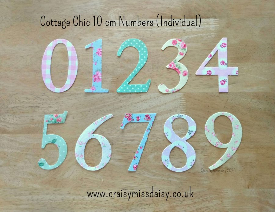 craisymissdaisy-Cottage-Chic-10-cm-iron-on-individual-numbers
