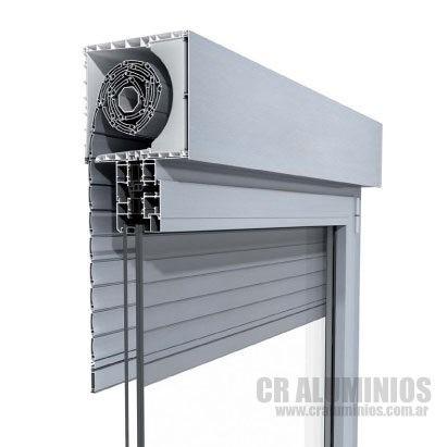 Ventana Modena Sistema Compacto Persiana Aluminio 150x90