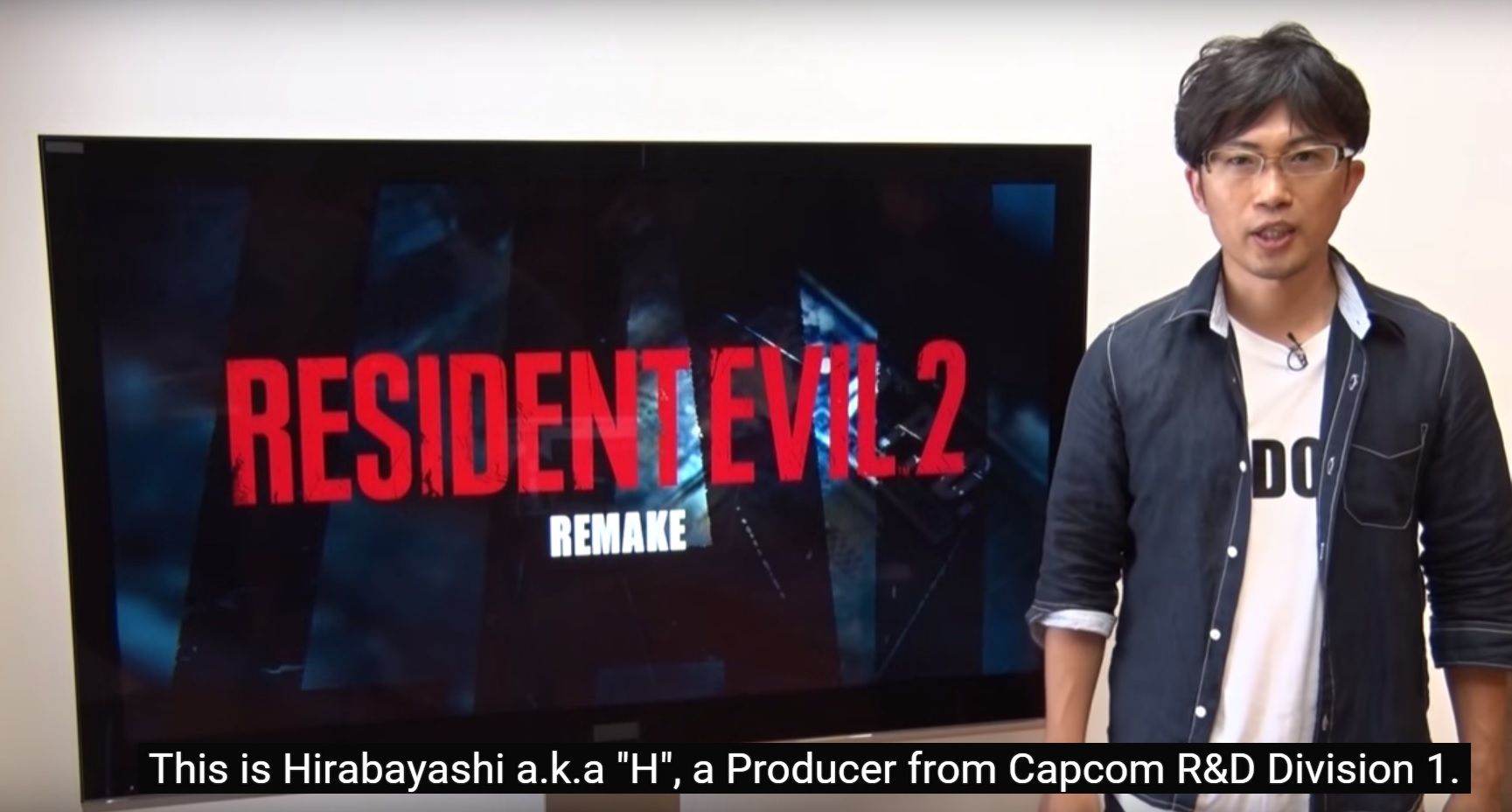 Resident Evil 2 Remake A Special Message From Producer