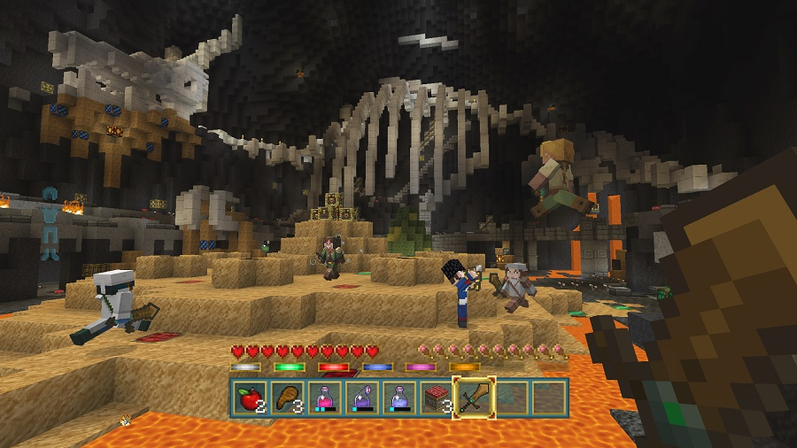 minecraft battle mode lair map