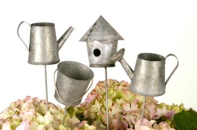 Blompinnar Zink trädgårdsredskap