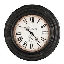Paris old wall clock