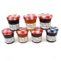 Miniburkar med marmelad och honung från Bonne Maman, 10:- styck