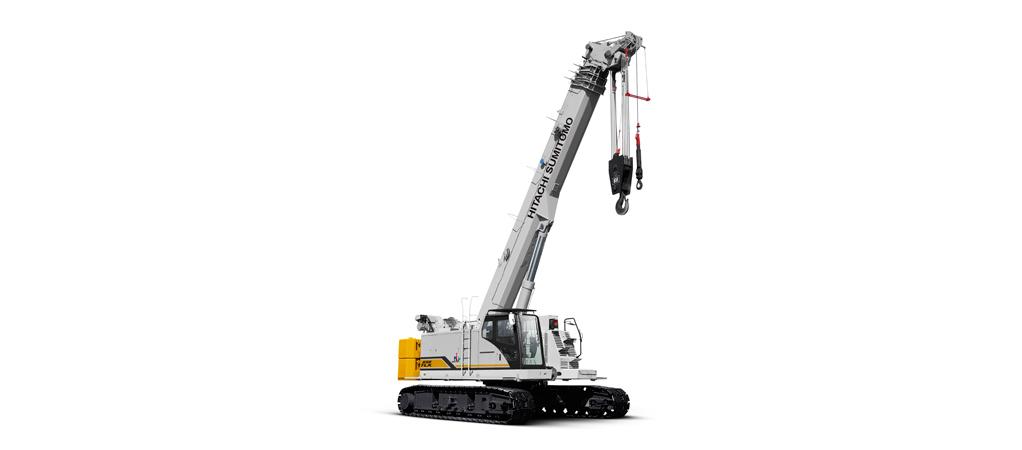 Hitachi Sumitomo launches new telecrawler crane, model
