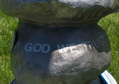 """COP III """"In God We Trust"""" by Susan Bigg"""
