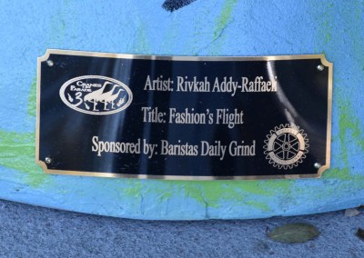 "COP III | ""Fashion's Flight"" by Rivkah Addy-Raffaeli"
