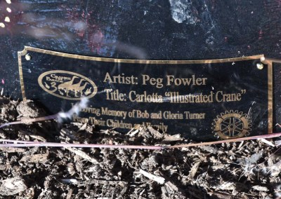"COP III | ""Carlotta-Illustrated Crane"" by Peg Fowler"