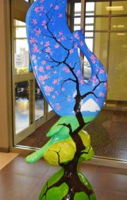 "COP III ""Cherry Blossoms at Mt. Fuji"" | by Martha Pettigrew"