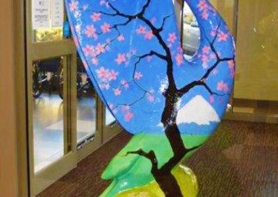 "COP III ""Cherry Blossoms at Mt. Fuji""   by Martha Pettigrew"