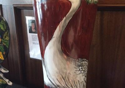 "COP III ""Crane Vase"" by Sherryl Hickman"