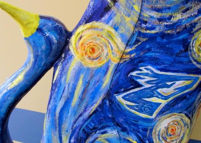 """COP III """"Starry Night""""   by UNK Art Society Students"""