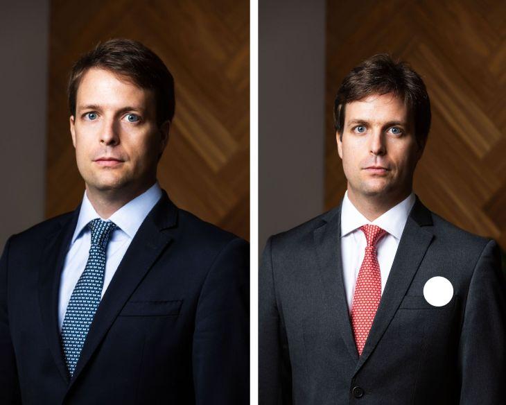 Gêmeos Guilherme Stuart e Renato Stuart, fundadores da RGS